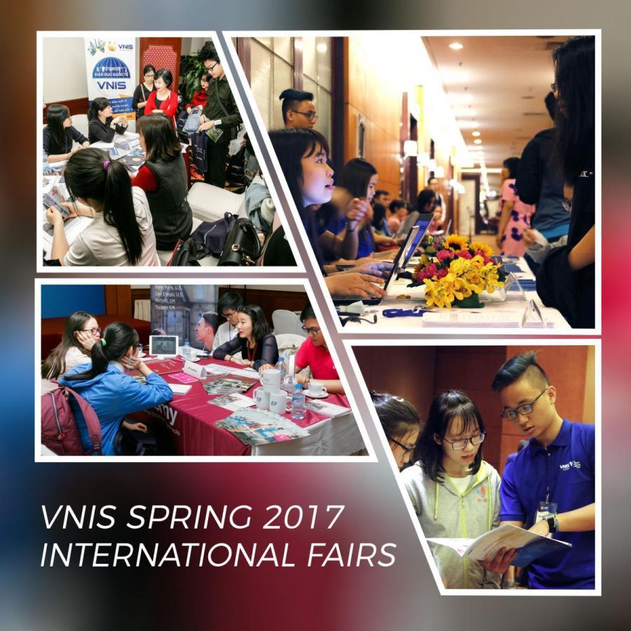 Spring 2017 VNIS International Education Fairs
