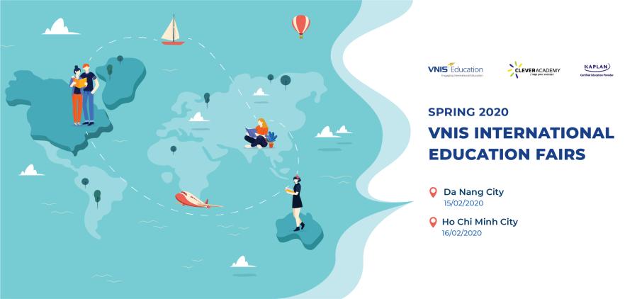 Spring 2020 VNIS International Education Fairs - Open for Institutional Registration